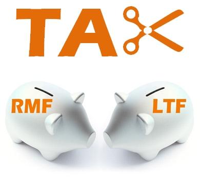 ฐานในการคำนวณสิทธิประโยชน์ทางภาษีจาก RMF และ LTF
