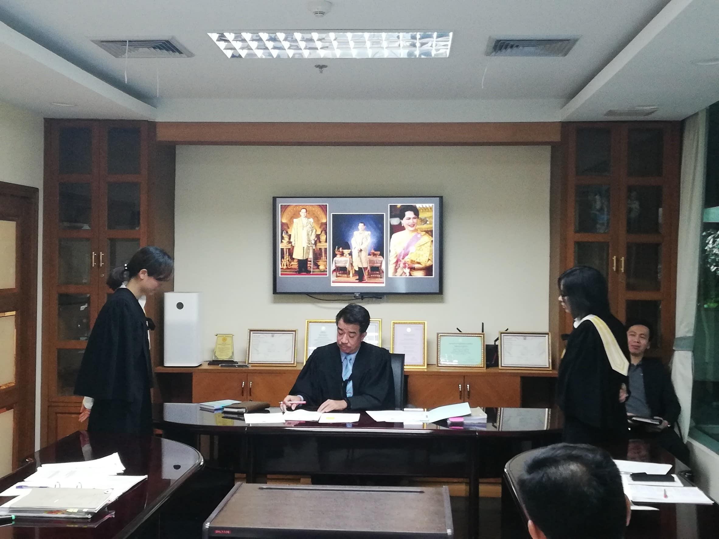 กิจกรรมศาลจำลอง ปี 2561